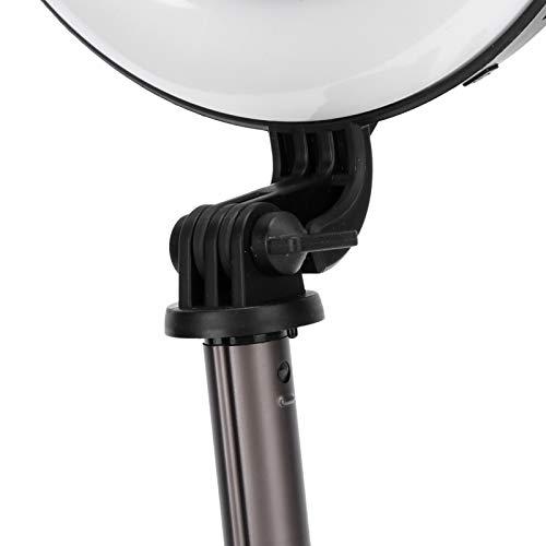 Zhat Trípode de luz de Anillo, luz de Anillo de Palo Selfie de Montaje de luz de Anillo, Soporte de trípode Plegable para transmisión en Vivo