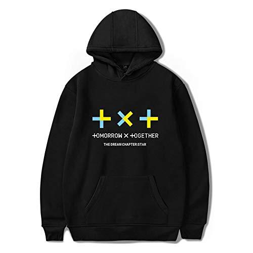TXT Sudaderas con Capucha Unisex KPOP Tomorrow X Together Hoodies HUENINGKAI SOOBIN...