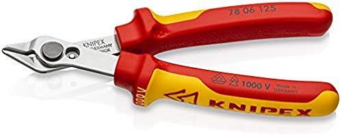 KNIPEX Electronic Super Knips VDE aislado 1000V (125 mm) 78 06 125