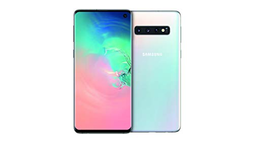 "Samsung Galaxy S10 - Smartphone de 6.1"", Dual SIM, 128 GB, Blanco (Prism White)"