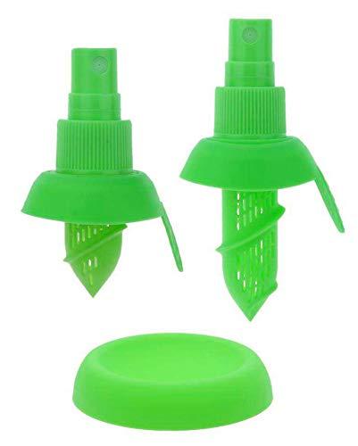 ASX Design Citrus Sprayer Lemon lime mist for your foods 3 Piece Set - Green