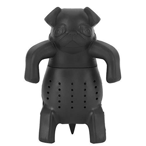 Duokon thee-ei cartoon hond siliconen losse theezeef infuser filter gadget thee-accessoire voor loose leaf grain