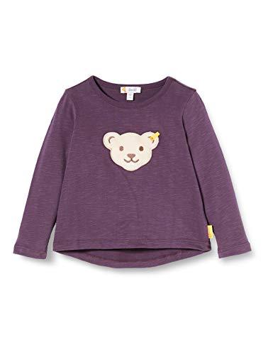 Steiff Mädchen langarm T-Shirt, Rosa (HORTENSIA 7021), 104