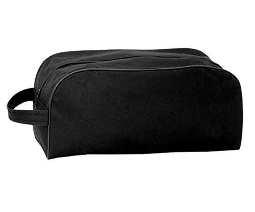 HAC24 10er Set Schuhtasche schwarz Schuhbeutel Sporttasche Reisetasche für Schuhe