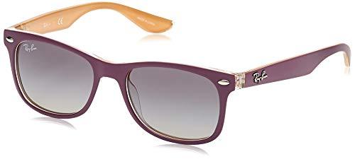 RAYBAN JUNIOR Ray-Ban Unisex-Kinder 9052s Brillengestelle, Violett (Top Matte Violet On Orange), 48