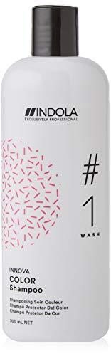 Indola Spa Shampoo Specifico Per Capelli Colorati O Con Meches, Innova Color-Shampoo, 300Ml