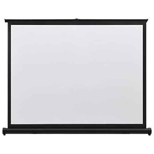 vidaXL Schermo di Proiezione da Tavolo Telo di Proiezione Telone per Film e Diapositive Accessori per Proiettori Display Visualizzatore 40  4:3