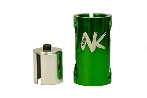 Nokaic SCS, Compresión de 4 Tornillos para Patinete Freestyle, Color Verde