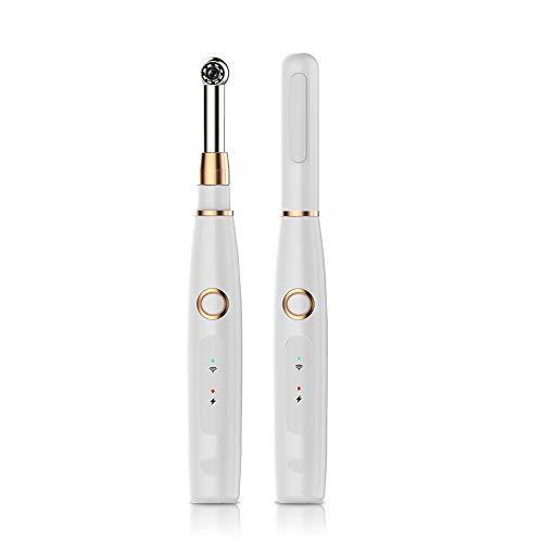 ZWBTY WiFi Drahtlose Mundendoskop-Kamera, HD Intraorale Endoskop-Kamera Mit 8 LED-Licht-Video-Zahnmedizinischen Werkzeug-Familien-Gesundheit Und Körperpflege Stützen iPhone Und Androides Mobile,Weiß