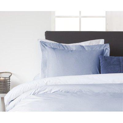Heckett Lane Perkal Uni Kussensloop 60x70 Baby Blue