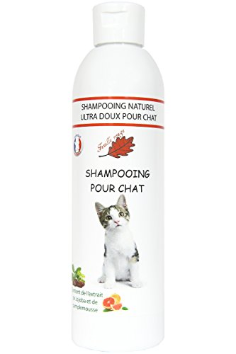 Feuille rouge Shampooing Spécial pour Chat
