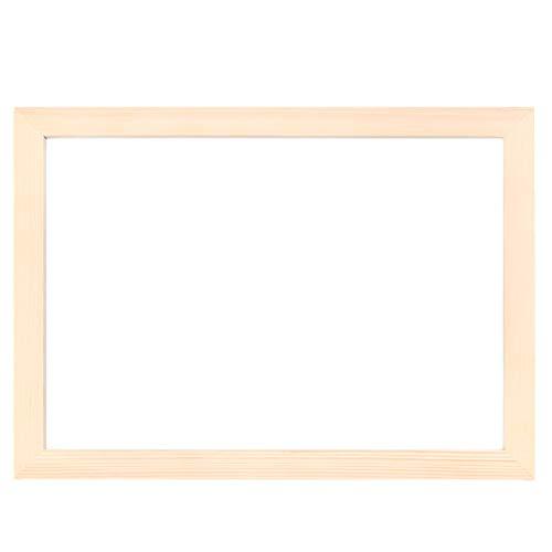 CJMM Holz Bilderrahmen 32 * 23cm A4 Echtholz Foto Posterrahmen für A4 Fotos Kunstwerke Gemälde