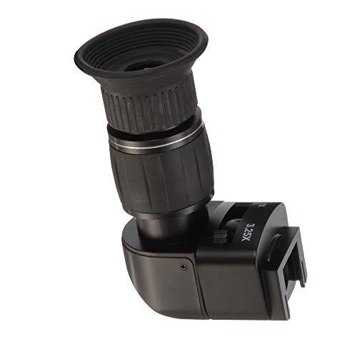 Hersmay 1X-3.25X Rechtwinkel-Sichtsucher für Canon Nikon Pentax Olympus Fujifilm Minolta Sony DSLR Kamera