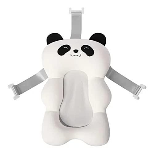 Almofada Flutuante para Banho Bebê Bóia de Banheira com Alça Branco