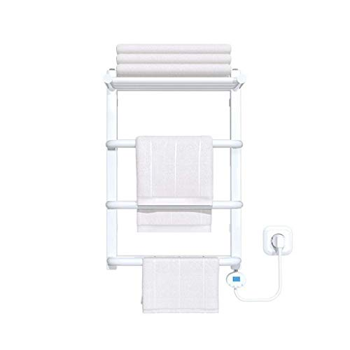 NBVCX Life Accessories Calentadores de Toallas eléctricos a Prueba de Agua Temperatura Constante Inteligente Deshumidificación a Prueba de Humedad Secado programado Toallero Adecuado para baño Cocina