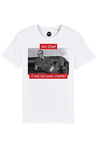 TSHIRT Corner – Jacques Chirac – Un Chef C