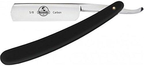 Efalock BeardEd Rasiermesser, 5/8 schwarz, 1er Pack