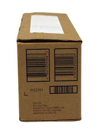 Dell GENUINE Original B2360d B2360dn B3460dn B3465dnf Laser BLACK Toner Cartridge, 8500 Page HIGH Capacity P/N : M11XH, 2PFPR, C3NTP, 593-11167