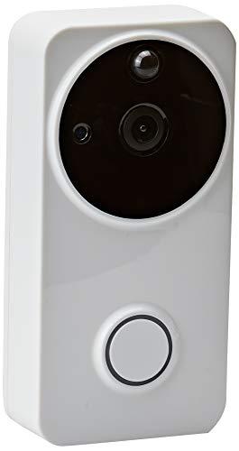 Jandei - Videoportero Con Vídeo 1080P IP 160º, 6 Meses De Batería, Conexión Wifi Con Detección De Movimiento. Aplicación Para Android IOS P2P