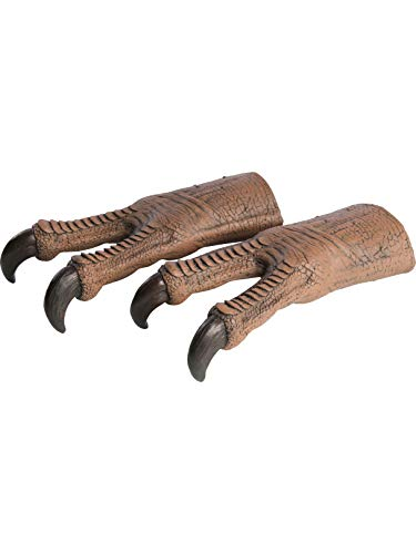 Rubie's Jurassic World T. Rex Adult Latex Hands, As Shown, One Size