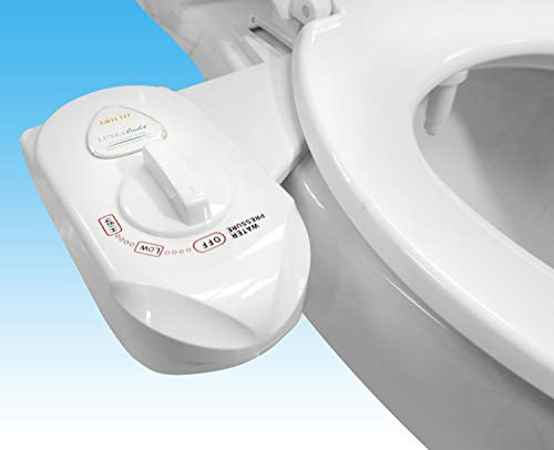 Luxe Bidet MB110 Fresh Water Spray Non-Electric Mechanical Bidet Toilet Seat Attachment