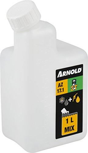 Arnold ARNOLD-2-Takt Mischflasche für 1 Liter Kraftstoffmix, 1:25/1:32/1:40/1:50 6011-X1-0201