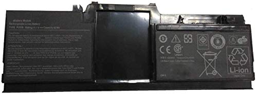 Hubei 11.1V 42Wh 3800mAh PU536 Replacement Laptop Battery for Dell Latitude XT XT1 XT2 PP12S Tablet Series Notebook 0H986H H986H FW273 MR317