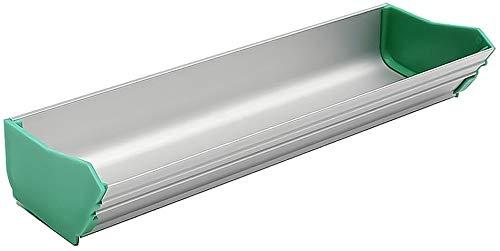 Emulsión de serigrafía, aleación de aluminio, resistente a la corrosión y duradero, aluminio de doble filo, 8 pulgadas, adecuado para serigrafía (verde)