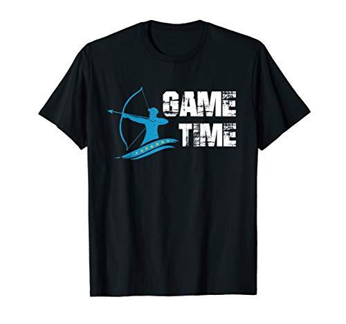 Bogenschütze 3D Bogenschießen Pfeil & Bogen Bogensport Ziel T-Shirt