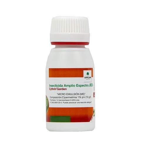 SIPCAM JARDÍN Cythrin Garden Insecticida Amplio Espectro JED, 30 ml