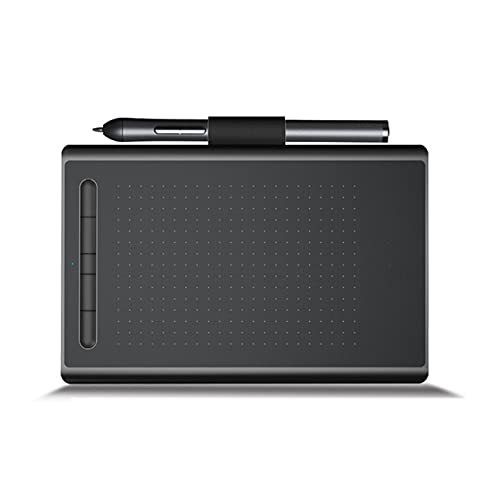 Tableta Gráfica, Tableta Gráfica Digital para Dibujar 12 Pulgadas con lápiz sin Batería 5 Teclas Tableta Digitalizadora para Android Mac OS Windows