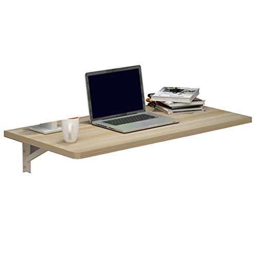Wandklaptafel van hout, inklapbaar, keukentafel, bijzettafel, laptoptafel, schrijftafel, multifunctionele tafel, uitklapbare eettafel voor aan de muur 70 * 40cm 1