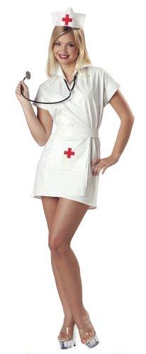 California Costumes Déguisement d'Infirmière Fashion