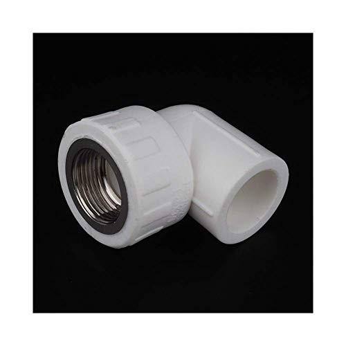 Tillbehör Reparationstillbehör 10st PPR Hona 1/23/4 1Gänga till 20mm 25mm 32mm Armbågsanslutning PPR Rör VVS-kopplingar PPR Vattenrörsfogar