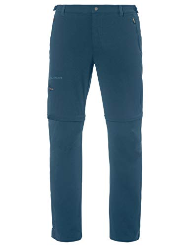 VAUDE Herren Hose Men's Farley Stretch T-Zip Pants II, abzippbare Hose zum Wandern, baltic sea, 50, 045753340500