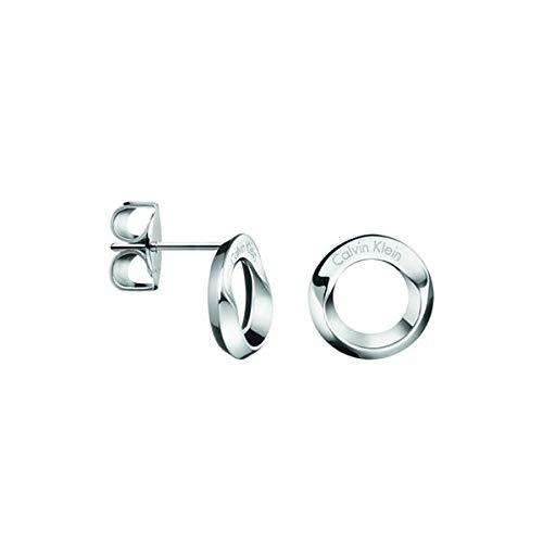 Calvin Klein Pendientes de botón Mujer acero inoxidable - KJ4NME000100