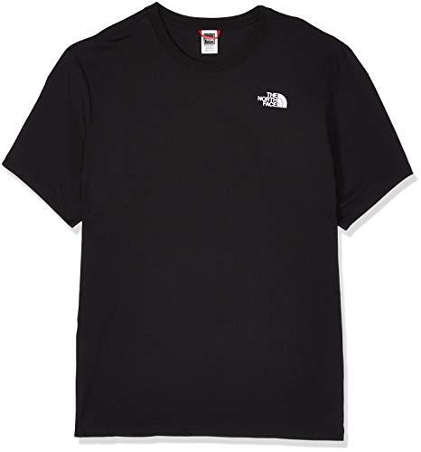 The North Face LOGOWEAR Camiseta Red Box para hombre, Hombre, Negro (Tnf Black), XXL