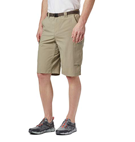 Columbia Men's Silver Ridge Cargo Short, Tusk, 32x12