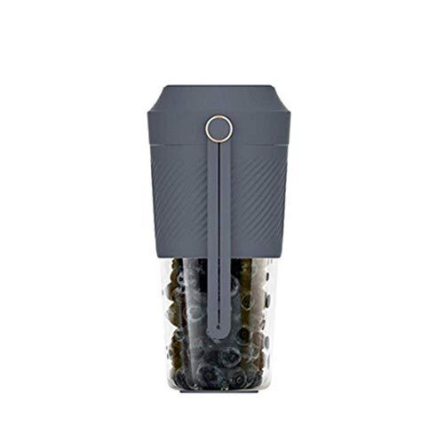 Fashion Electric Portable Juicer Cup Multiuso 400 Ml Usb Mute Cocina Mezclador de Frutas Y Licuadora Exprimidor de Frutas Exprimidor Negro, O&YQ