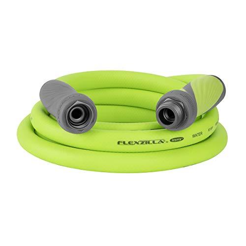 Flexzilla Garden Hose with SwivelGrip, 5/8 in. x 10 ft., Heavy Duty, Lightweight, Drinking Water Safe - HFZG510YWS