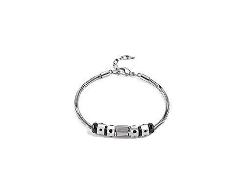 Sector Men's Bracelet Silver Stainless Steel ACE SAAL54