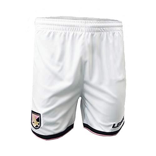 U.S. Stadt Palermo Plm176 Kinder-Shorts für Rennen, Jungen, PLM176, Weiß/Rosa, XXS