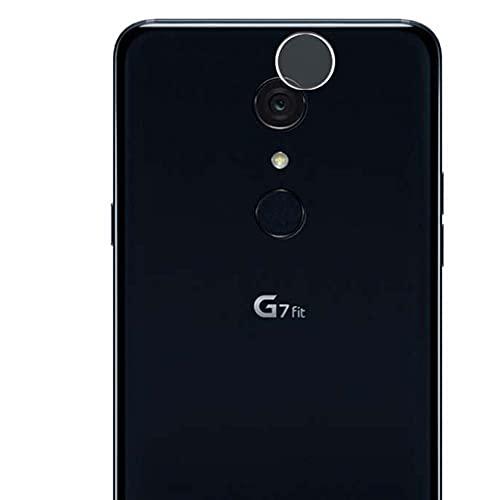 Vaxson 2 Unidades Protector de Lente de Cámara, compatible con LG G7 Fit Fit+ [No Vidrio Templado Carcasa Case ] Película Protectora Film Guard