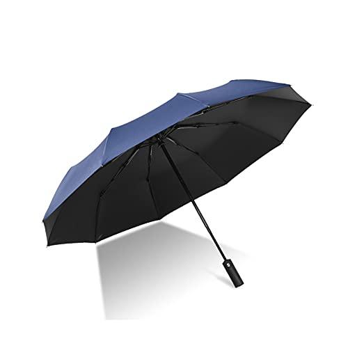 DTKJ Paraguas Automático Plegable Vinilo Negocio Paraguas Equipo de Lluvia, Logotipo Personalizado