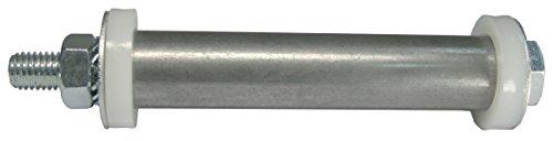 Dörner + Helmer 483034 Achsenzubehör Haemmerlin und Limex Schubkarren, Befestigungsset für Radsätze, 8-teilig, Silber