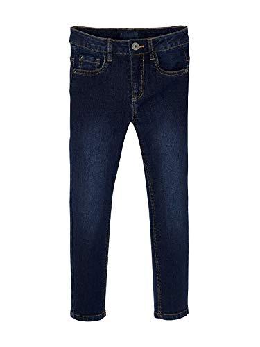 Vertbaudet Slim-Fit Jeans für Jungen, 5-Pocket Dark Blue 110
