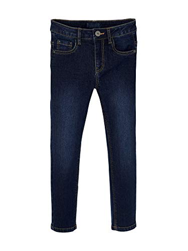 Vertbaudet Slim-Fit Jeans für Jungen, 5-Pocket Dark Blue 146/152