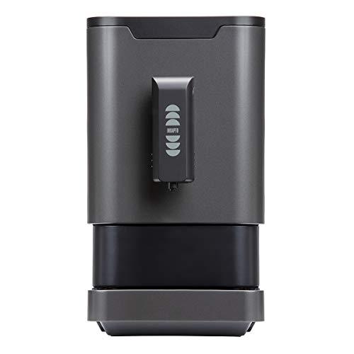 Incapto Cafetera Super automática de café en Grano, 19 Bares, 1470W, Espresso y Largo, Negra 18x31x40 cm, Molido Regulable