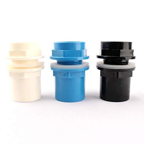 Snger Raccordi per Tubi per Acquario Interno da 40 mm Raccordi per Tubi di Scarico Acquatico Uscita per Tubo in PVC Raccordi per Tubi di approvvigionamento idrico di irrigazione