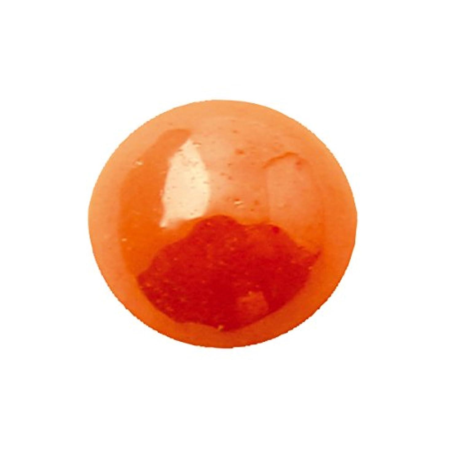 フィールド他のバンドでスタックグラスパールラウンド 4mm(各30個) オレンジ